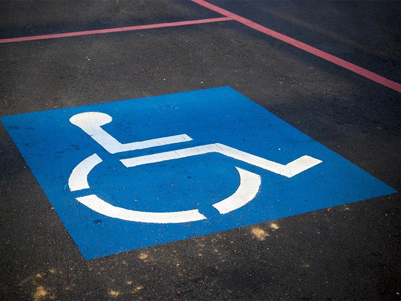 Nashville Handicap Striping Solutions Photo