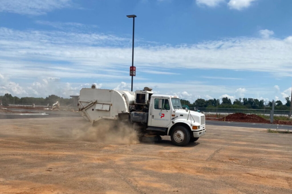 Nashville Construction Sweeping Services Photo