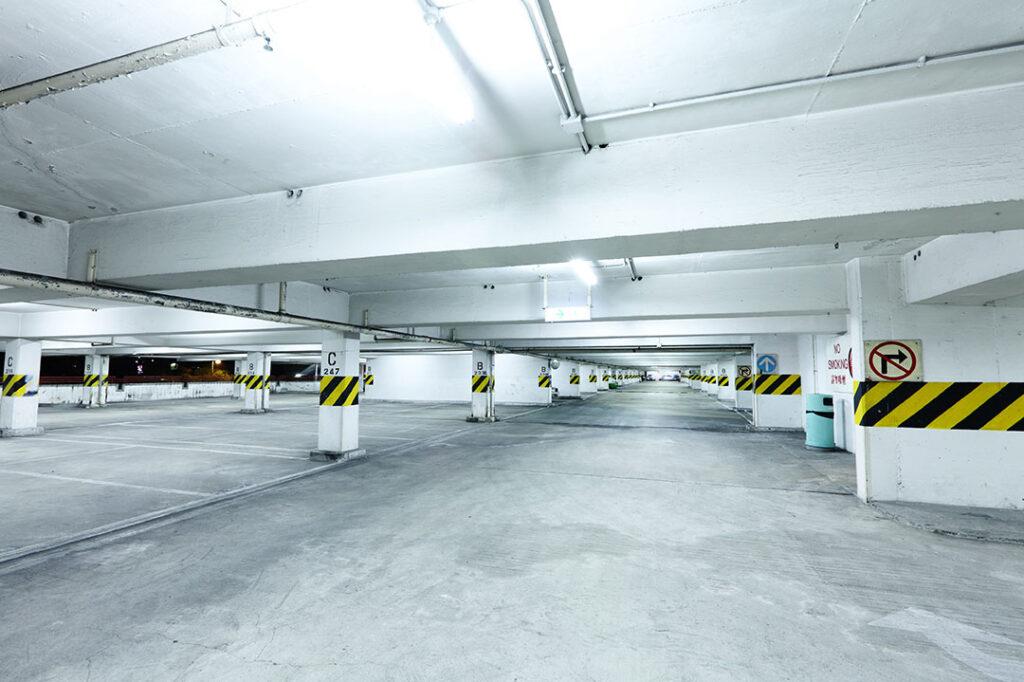 Nashville Parking Garage Cleaning Services Photo