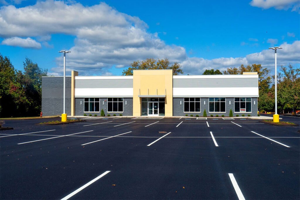 Nasvhille Retail Parking Lot Sweeping Services Photo