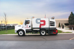Nashville Sweeping Truck Equipment Photo